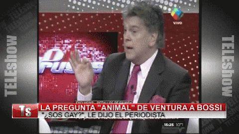 Bossi y la pregunta animal de Ventura