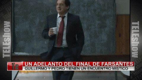 Un adelanto de la última escena entre Vicuña y Chávez en Farsantes
