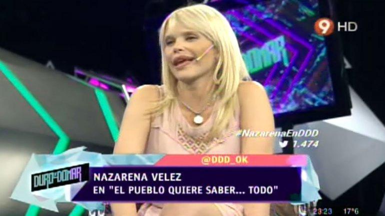 Nazarena Vélez: Estoy tratando de dejar la medicación porque quiero que mis viejos y mis hijos me vean bien