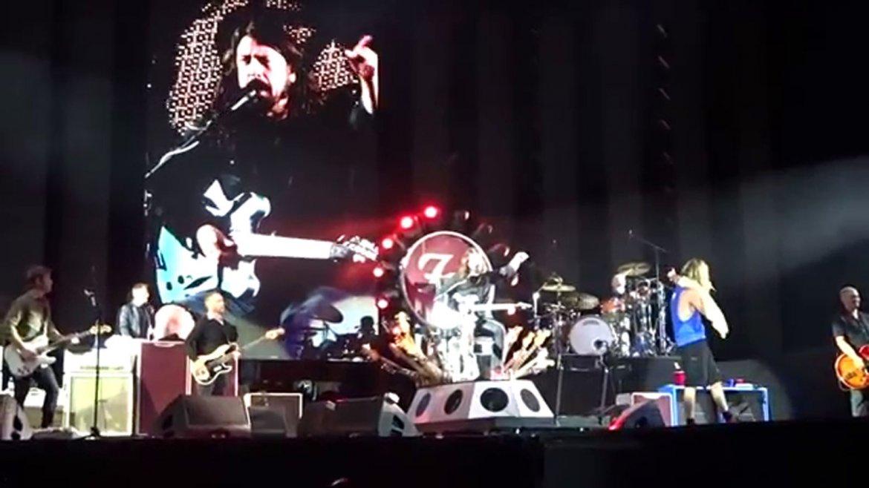 El cl�sico que reuni� a Queen, Led Zeppelin y Foo Fighters ...