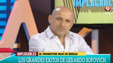 Gustavo Sofovich recordó a su padre, Gerardo