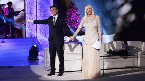 Mauricio Macri con Susana Giménez