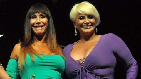 Moria Casán le ofreció a Carmen Barbieri ser su representante