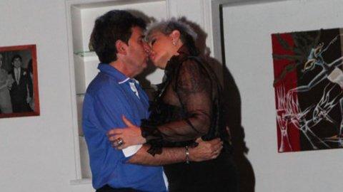 Qué dijo la mujer de Beto César sobre el beso con Carmen Barbieri