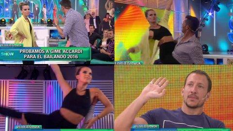 Gime Accardi... ¿al Bailando?