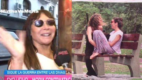 Moria Casán habló sobre Juanita Viale