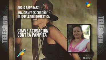 La palabra de la ex mucama que denunció a Pampita