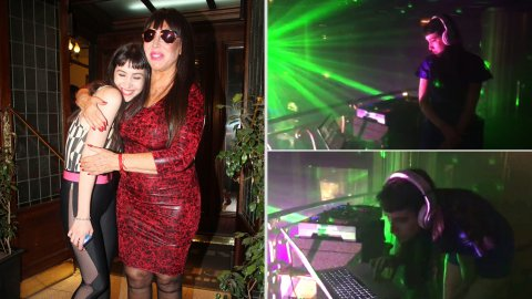Sofía Gala debutó como DJ en The Hole
