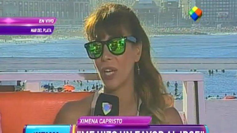Ximena Capristo sobre su separación de Gustavo Conti