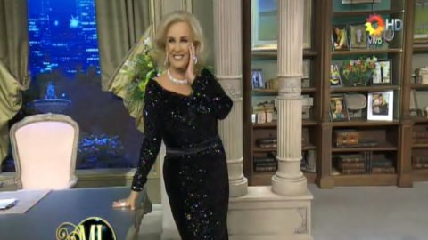 Mirtha Legrand regresó a la televisión