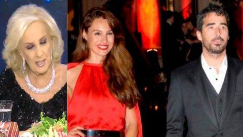 Mirtha Legrand oficializó el romance entre su nieto, Nacho Viale, y Carolina Pampita Ardohain