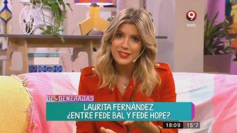 ¿Qué dijo Laurita Fernández del mensaje que desató la noche de furia entre Fede Bal y Barbie Vélez?