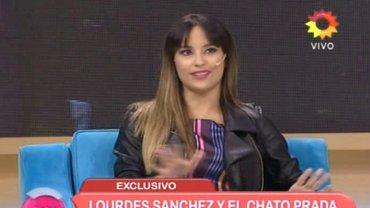 Lourdes Sánchez develó el sexo de su bebé