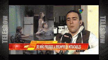 Leonardo Vilches, el hombre que irrumpió en el piso de Intratables, habló de sus problemas